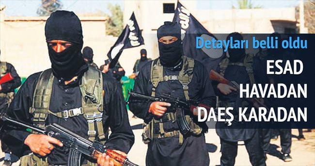 Esad havadan DAEŞ karadan vuracak