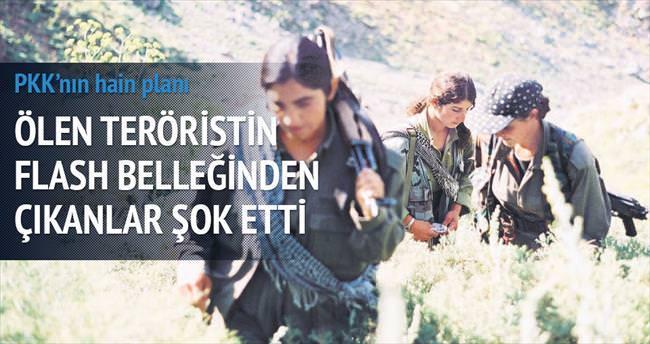 Ölü teröristin flash belleğinden PKK'nın kaçırdığı çocuklar çıktı