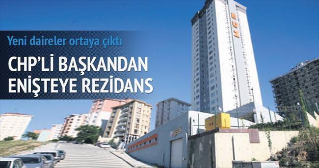CHP'li başkandan enişteye rezidans