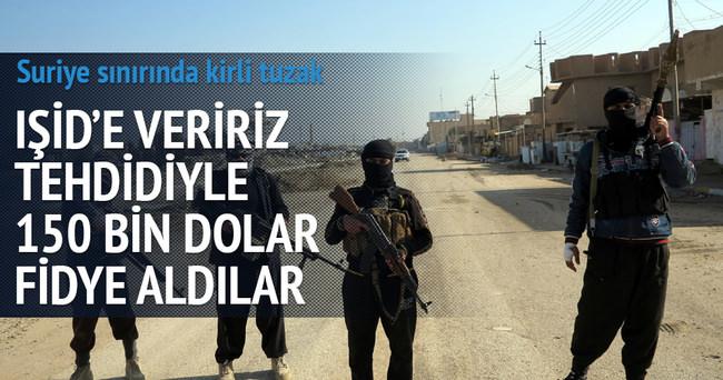 'IŞİD'e veririz' tehdidiyle 150 bin dolar fidye aldılar