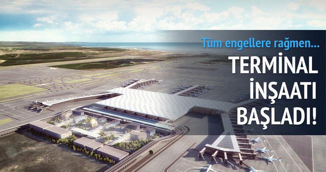 3. Havalimanı terminalinin inşaatına başlandı