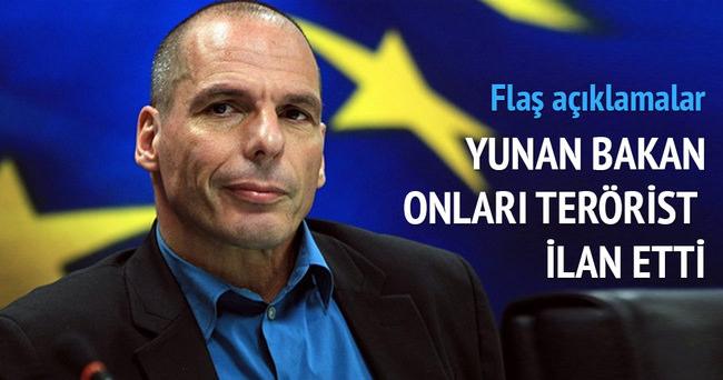 Yunanistan'da 'terörist Avrupa' çıkışı