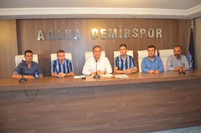 Adana Demirspor'a İki Yabancı Transfer