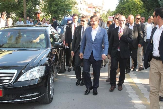 Başbakan Ahmet Davutoğlu Konya'dan Ayrıldı