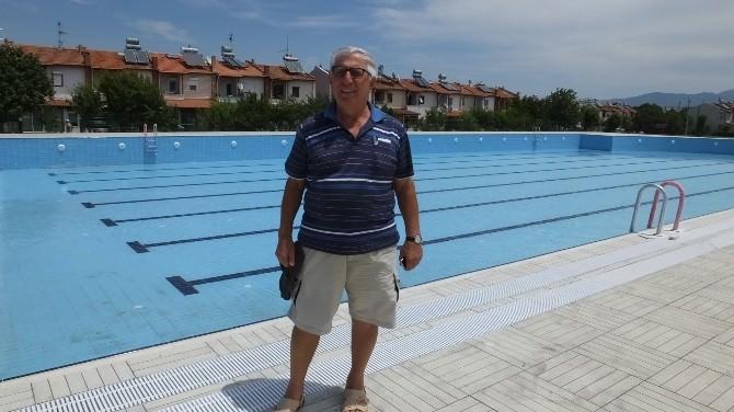 Burhaniye'de Orjan Tatil Sitesine Olimpik Havuz