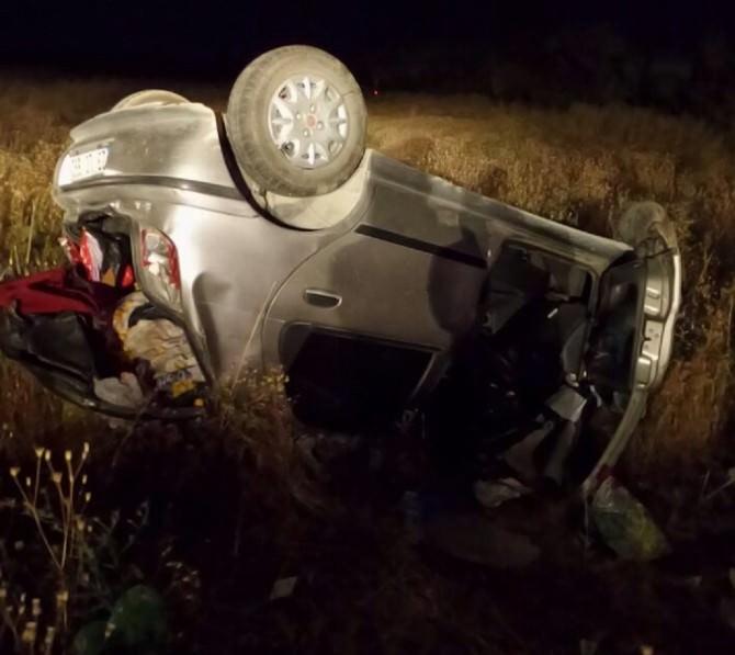 Elazığ'da Otomobil Takla Attı: 6 Yaralı