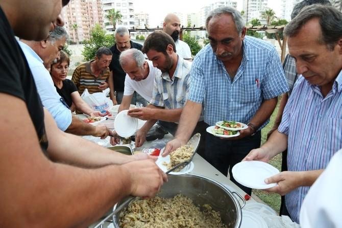 Mezitli'de 'Yeryüzü Sofrası' Kuruldu