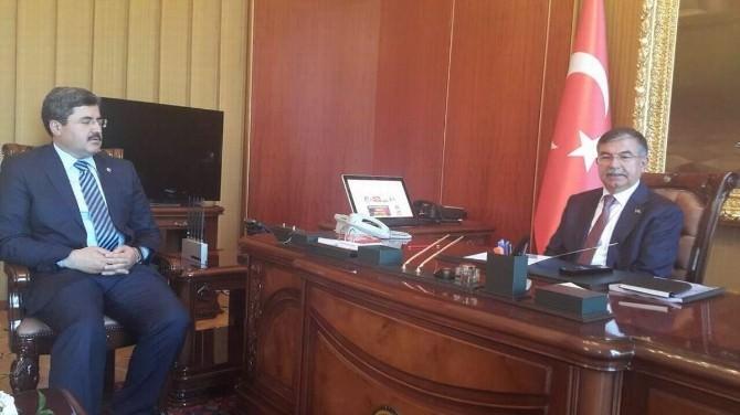 Milletvekili Özkaya'dan, İsmet Yılmaz'a Hayırlı Olsun Ziyareti