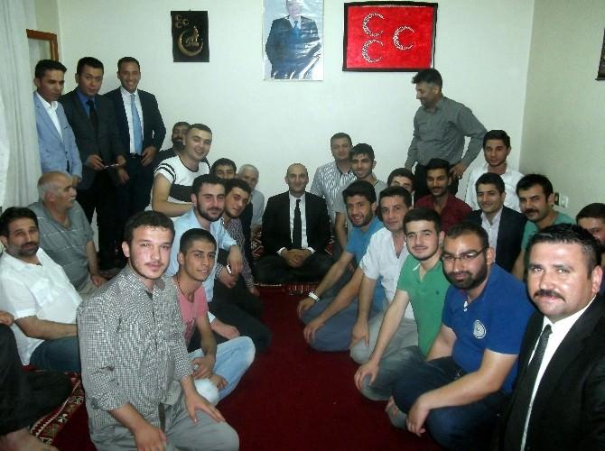 Ülkü Ocakları Genel Başkanı Adıyaman'ı Ziyaret Etti