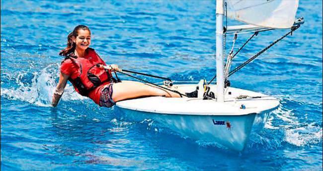 Yelkenlerin yarışı Akdeniz'e yakıştı
