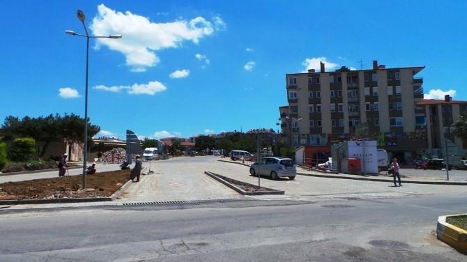 Armutçuk Pazaryeri Yolu Cunda Kavşağına Bağlandı
