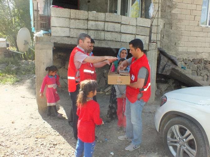 Türk Kızılay'ından Kavurma ET Yardımı