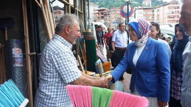 AK Parti Trabzon Milletvekili Köseoğlu'ndan Köprübaşı Ve Sürmene İlçelerine Teşekkür Ziyareti