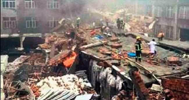 Çin'de fabrika faciası: 11 ölü