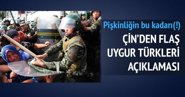 Çin'den Uygur Türklerine dair açıklama