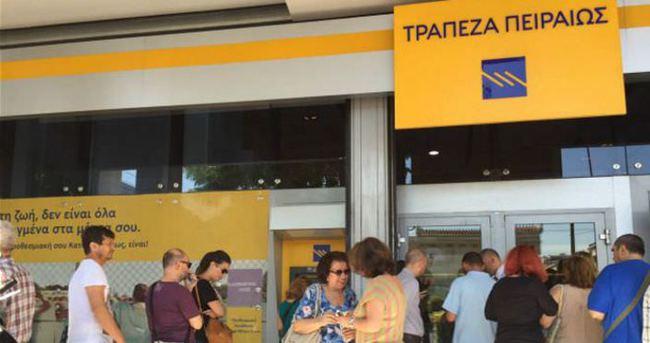 Yunan bankacılar anlaşma bekliyor