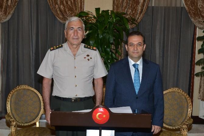 Jandarma Genel Komutanı Atay, Vali Türker'i Ziyaret Etti