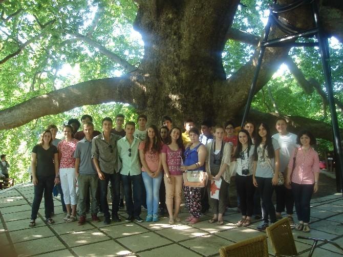 Bursayı Keşfederek Türkçe Öğreniyorlar