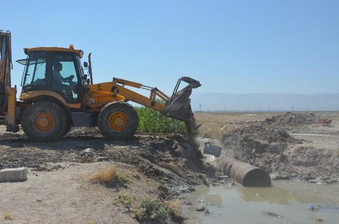 Ereğli'de Çökme Tehlikesi Olan Köprü Tadilata Alındı