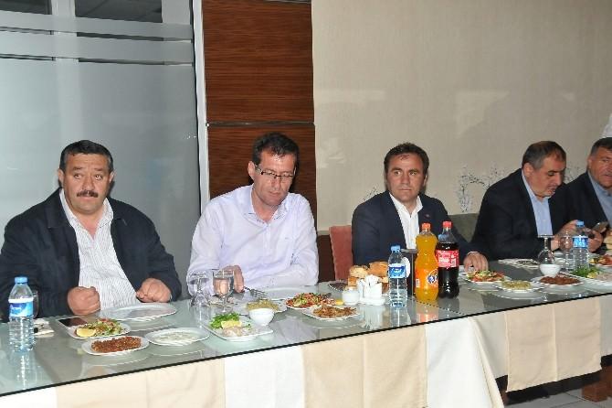 Gümüşhane'de Belediye Başkanları İftarda Buluştu