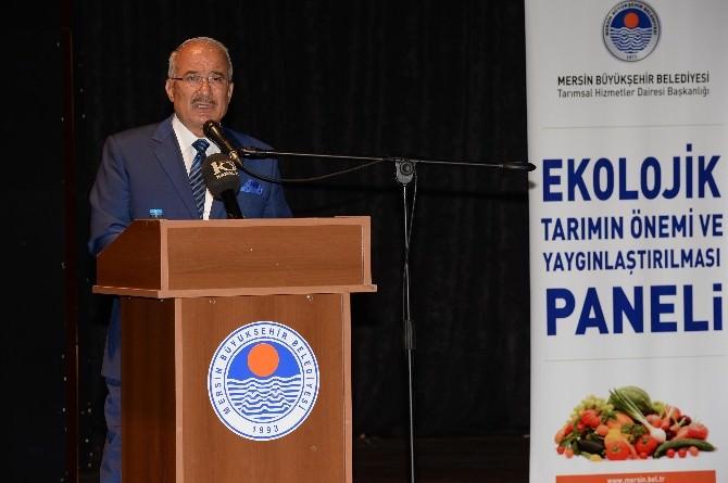 Mersin'de 'Ekolojik Tarımın Önemi Ve Yaygınlaştırılması' Paneli