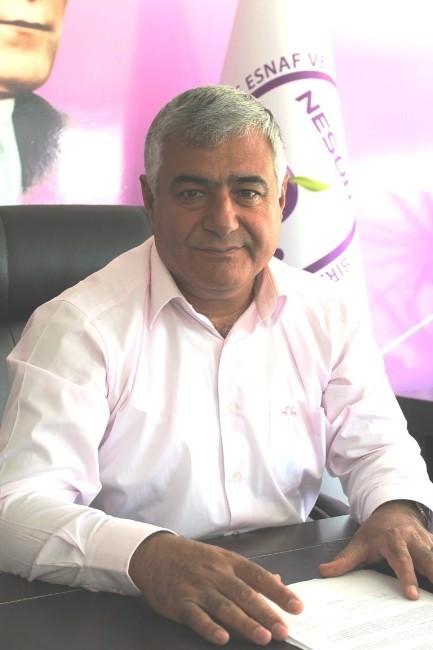 Niğde Esnaf Ve Sanatkarlar Odaları Birliği Başkanı Erdoğan Aykin;