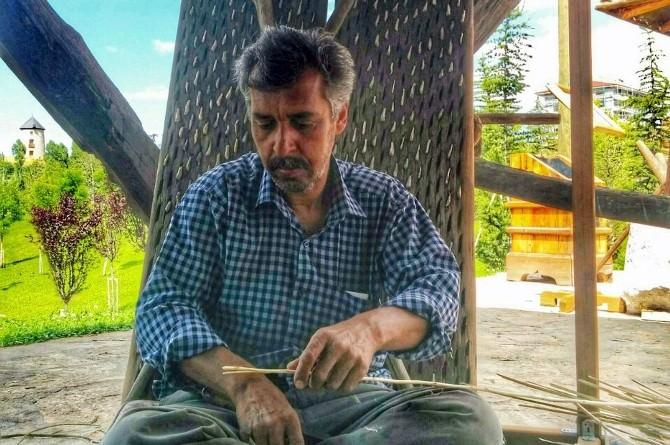 Sepet Örme Sanatı Altınköy'de Yaşatılıyor