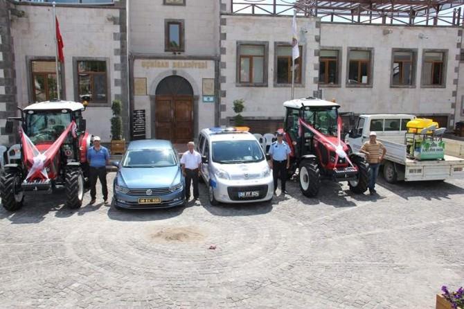 Uçhisar Belediyesi Araç Filosunu Genişletti