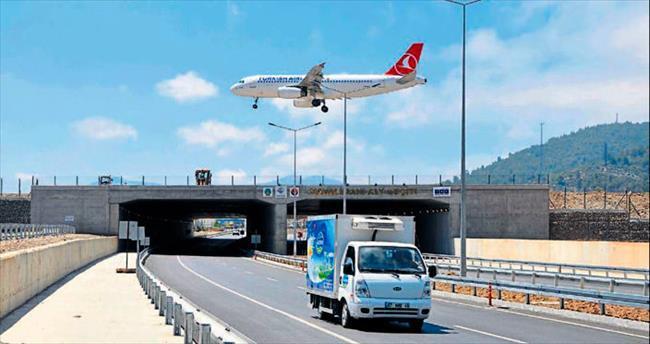 Altı karayolu üstü havalimanı