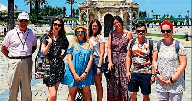 İzmir'e hayran kaldılar