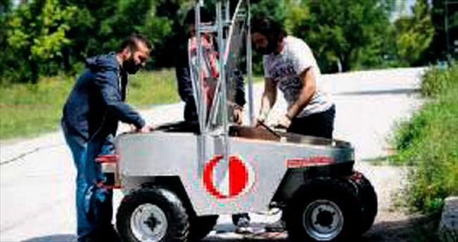 ODTÜ'den insansız kara aracı