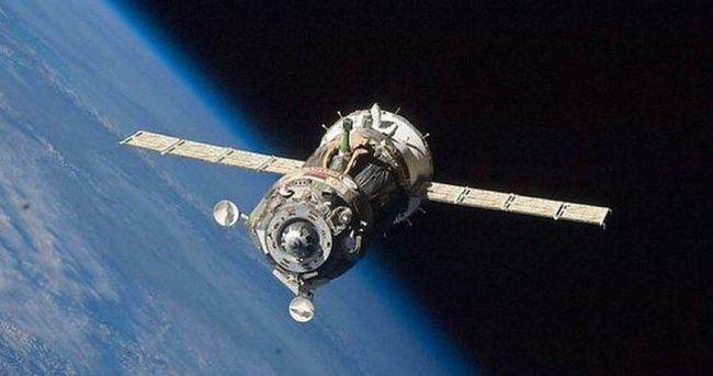 O araç uzay istasyonu'na ulaştı