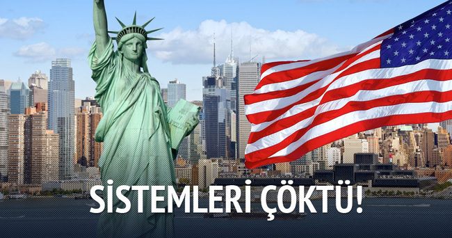 ABD vize sistemi çöktü!