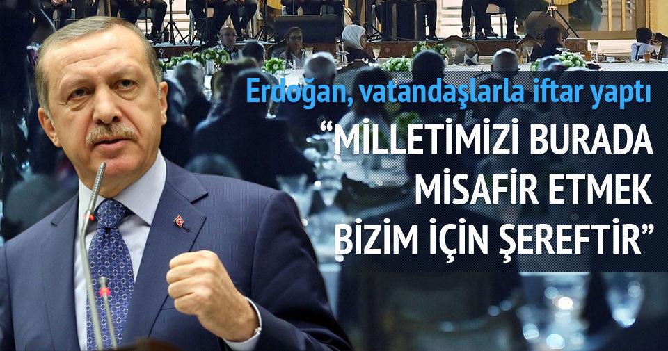 Erdoğan'dan hükümet açıklaması