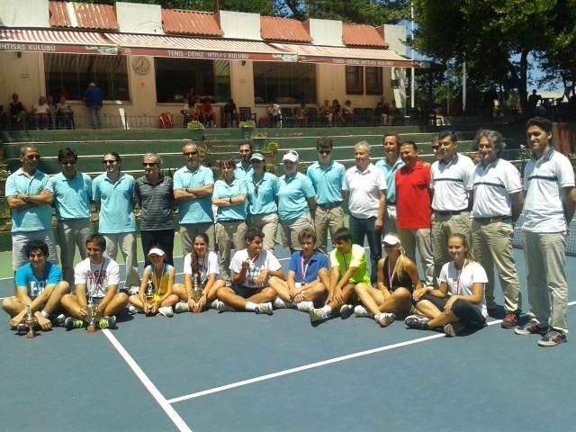 Türkiye 16 Yaş Yaz Kupası Tenis Şampiyonası Zonguldak'ta Yapılacak