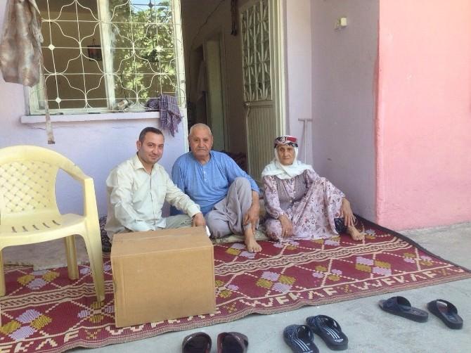 Maddi Durumu İyi Olmayan Ailelere Yardım Kolileri Ulaştırılıyor