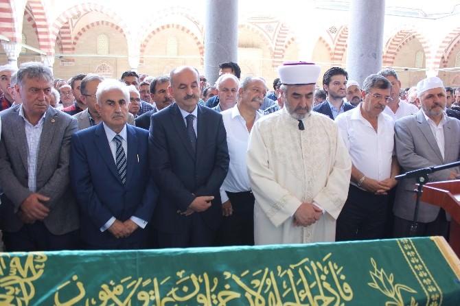 Sağlık Bakanı Müezzinoğlu, Eski Edirne Müftüsü Koçaşlı'nın Cenazesine Katıldı