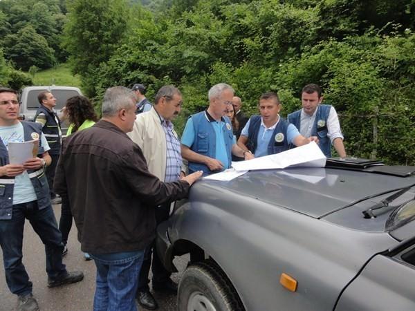 Orman Bölge Müdürü'nden Bartın'da İnceleme Gezisi
