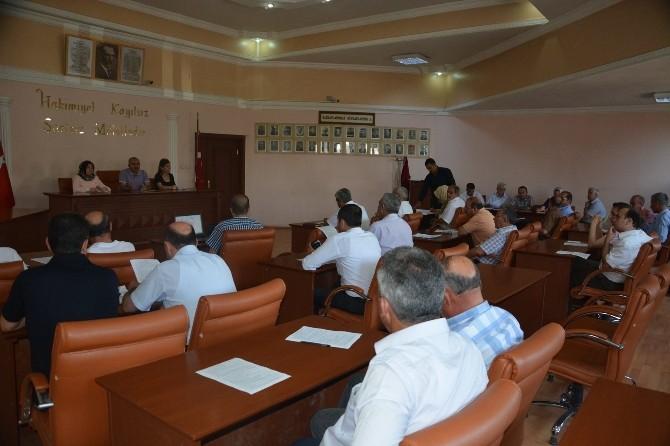 Belediye Meclisi Toplandı