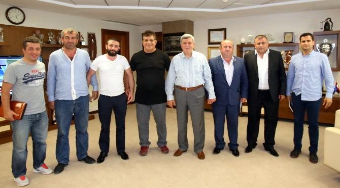 """Başkan Karaosmanoğlu: """"Spor'un Her Branşı Kıymetlidir''"""