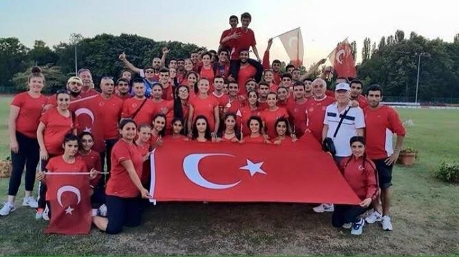Atletler Üç Ülkeden Madalyalarla Döndü