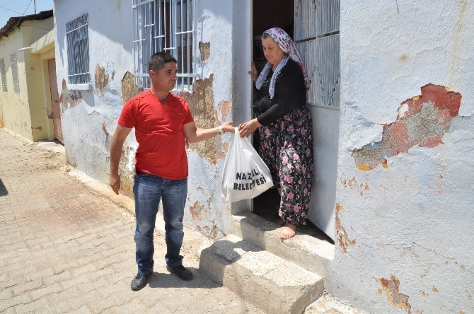 Nazilli Belediyesi'nden Gıda Yardımı