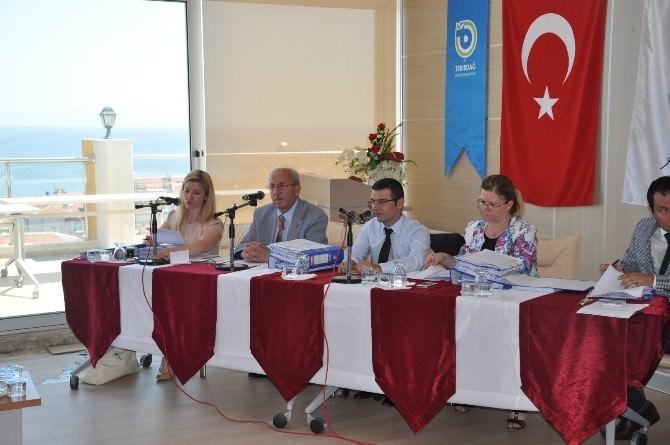 Tekirdağ Büyükşehir Belediyesi Temmuz Ayı Meclis Toplantısı Yapıldı