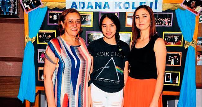 Hem Adana'nın hem de okulunun gururu oldu