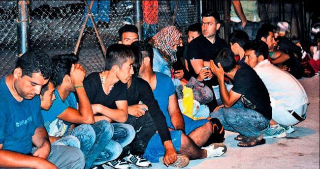 Didim'de kaçak göçmen teknesi battı!
