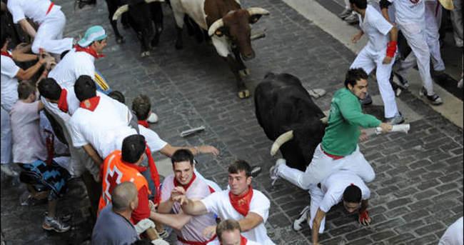 İspanya'da Boğa Festivali'ne yoğun ilgi