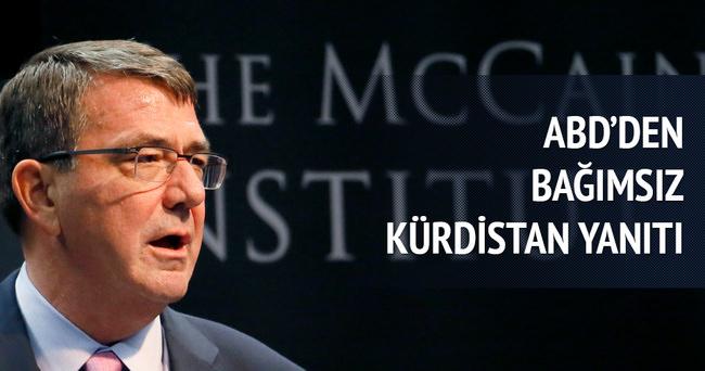 ABD'den 'Bağımsız Kürdistan' çıkışı