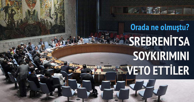 Rusya Srebrenitsa soykırımı tasarısını veto etti