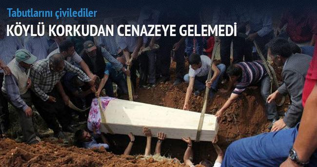 5 dakika arayla öldüler tabutla gömüldüler
