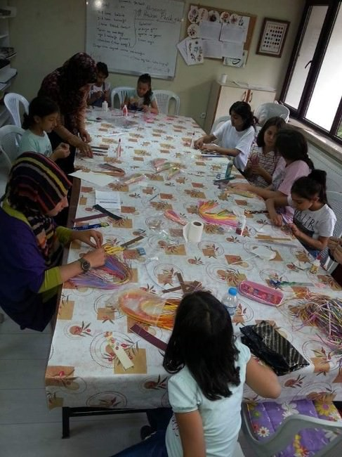 Akmek'te Yaz Kursları Açıldı